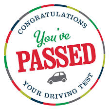 Congratulations you've passed